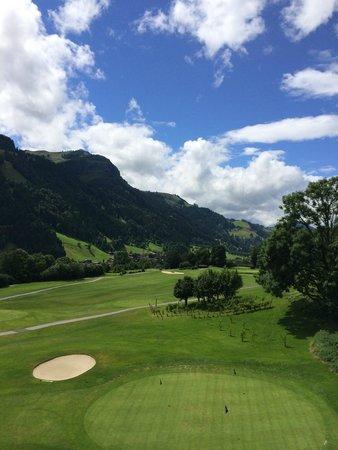 Grand Tirolia: Blick Richtung Kitzbühel