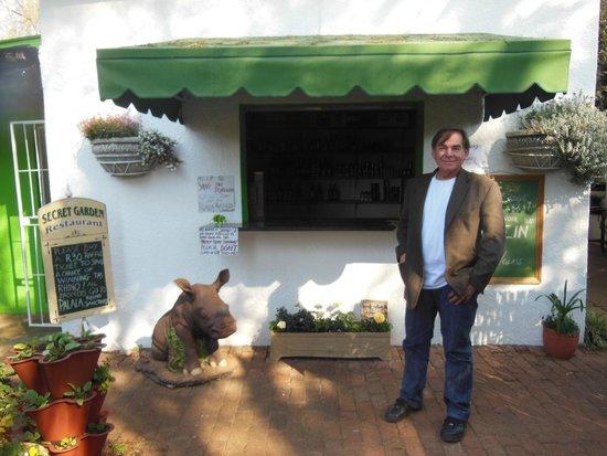 Owner of The Secret Garden, Brian Graham
