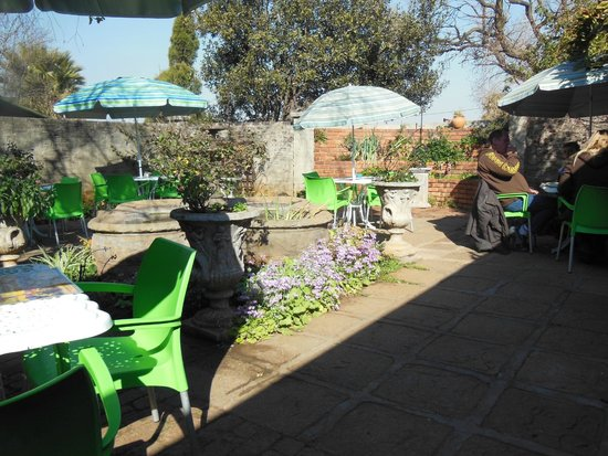 The Secret Garden: Part of The garden dining area