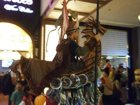 DreamWorks Experience at Cotai Strip Resorts: парад