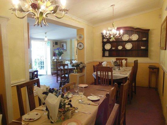 The Secret Garden: Part of the indoor dining area