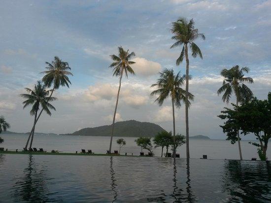 The Vijitt Resort Phuket: View from the pool