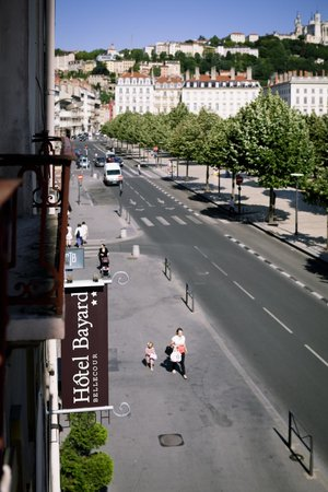 Hotel Bayard Bellecour : Vue d'une chambre