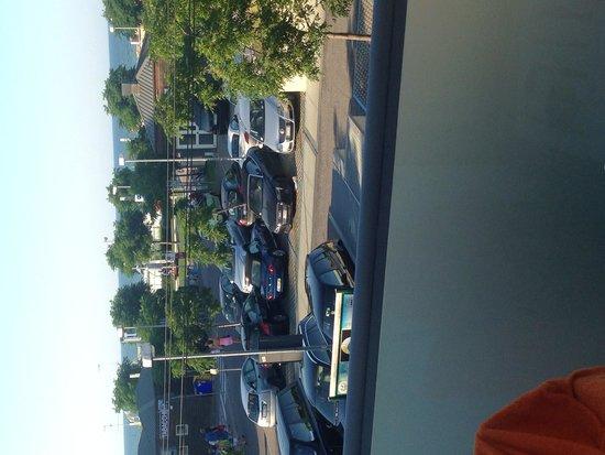 Hotel Boemia: Вид с балкона 2