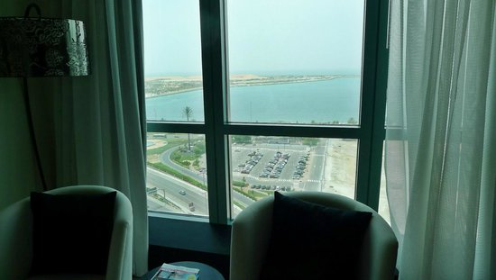 Sofitel Abu Dhabi Corniche: View from the room.