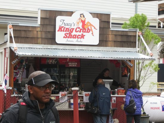 Tracy's King Crab Shack: ordering shack
