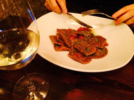 Guze Bistro: Rabbit Ravioli starter