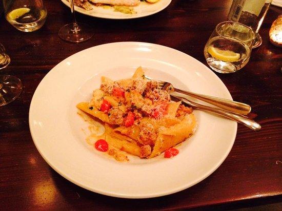 Guze Bistro: Main course pasta