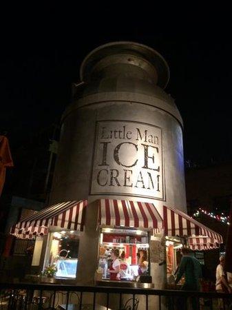 Little Man Ice Cream: coolest idea for an ice cream stend ever!