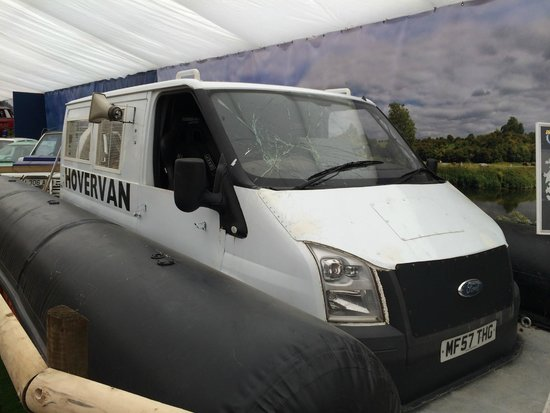 Beaulieu National Motor Museum: Hovervan from Top Gear!