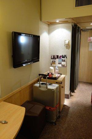 Mercure Montpellier Centre Comédie: 房間電視及mini bar