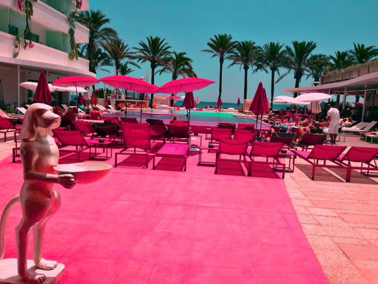 Ushuaia Ibiza Beach Hotel : Tower pool. That's amazing )