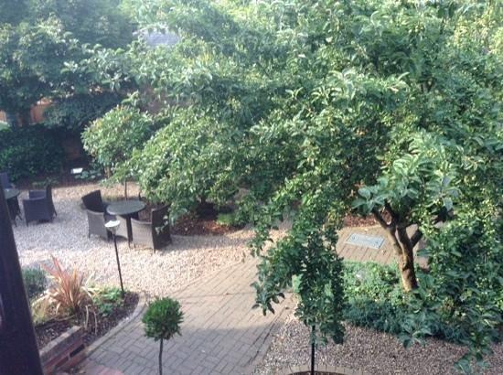 Restaurant Sat Bains: The gardens, Sat Bains