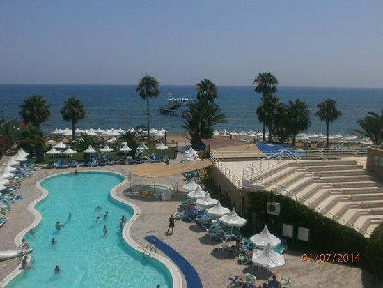 Turquoise Resort Hotel & Spa: vyhlad z toboganu