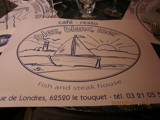 La Plage du Touquet : Sea food restaurant