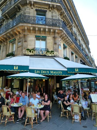 Café de Flore : just down the road