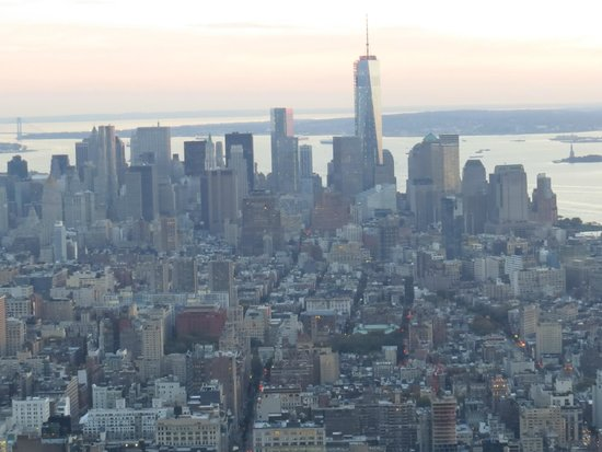 The view south from Empire State Building