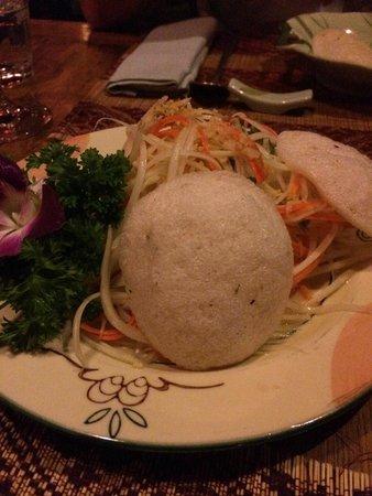 Nuage : Papaya Salad with Coriander