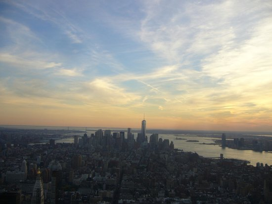 View south from Empire State Building