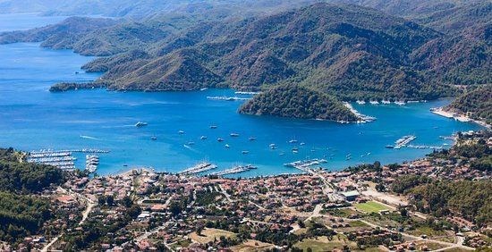 D- Resort Gocek : D Resort is on the far left.