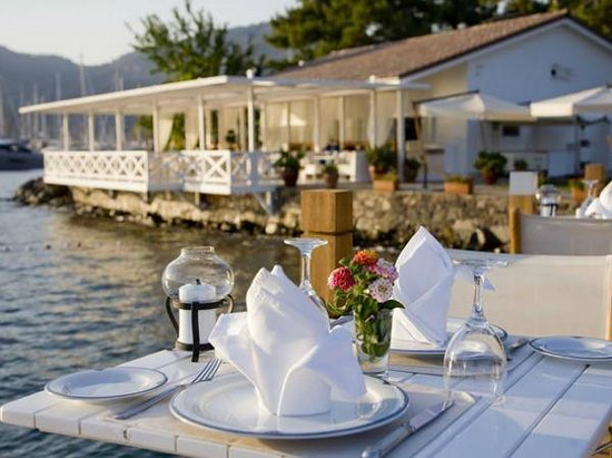D- Resort Gocek : Another view of Breeze restaurant.