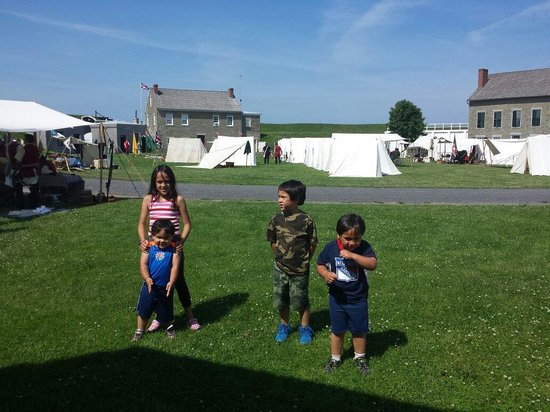 Fort Ontario State Historic Site: Great family fun at the fort
