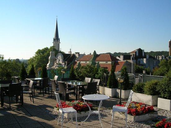 Hotel Ekazent: Терасса в отеле