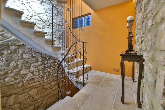 Salon de la Maison d'hotes la Maison du Passage, Gard vers Anduze ...