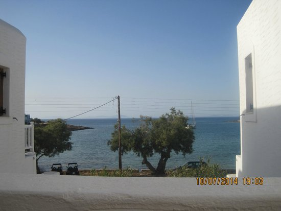 Roussos Beach Hotel : View from the room