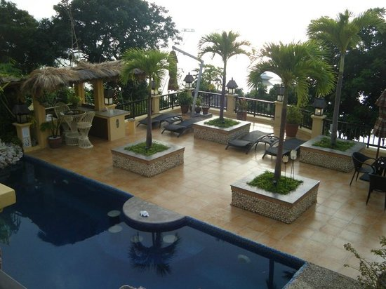 Palm Breeze Villa Boracay Hotel : 나도 찍어본 유명한 구도..