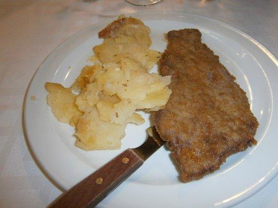 Palacios Restaurante: Escalopa de Ternera Menu 8.5€