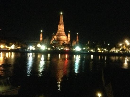 sala rattanakosin Bangkok: view from our River view room