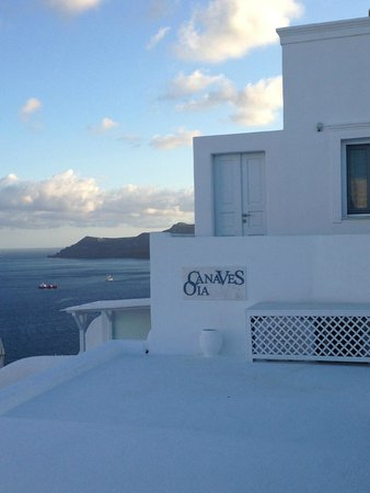 Canaves Oia Hotel : entrance