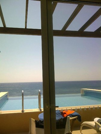 Atrium Prestige Thalasso Spa Resort and Villas : Sitting in the room typing review