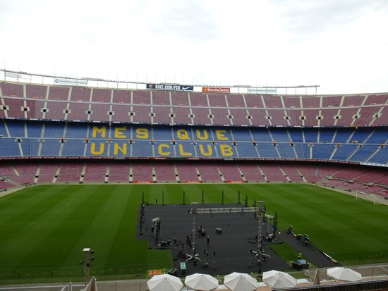 Camp Nou: стадион