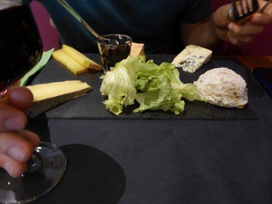 L'Affineur' Affine: tabla de 5 quesos