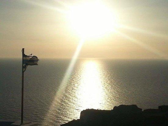 Sunset in Oia: Mágica da natureza