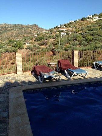 La Casa del Molinero: het zwembad