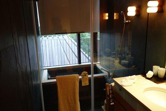 Hotel Royal Chiao Hsi: 浴室泡湯區