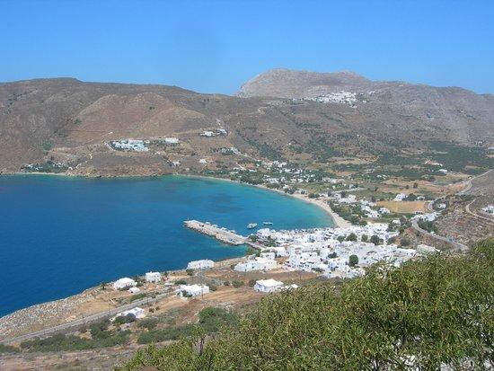 Pano Gitonia: view of Aegiali