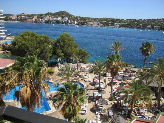 Pool area picture of trh jardin del mar santa ponsa for Apart hotel jardin del mar