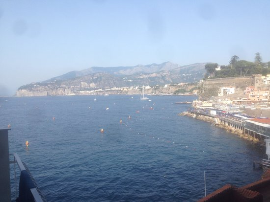 Hotel Admiral Sorrento : Beautiful view to wake up to!