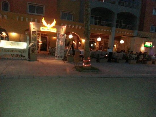 The Heaven Restaurant: marina