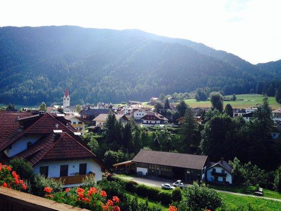 Hotel Koflerhof: La vista dal balcone della camera 126