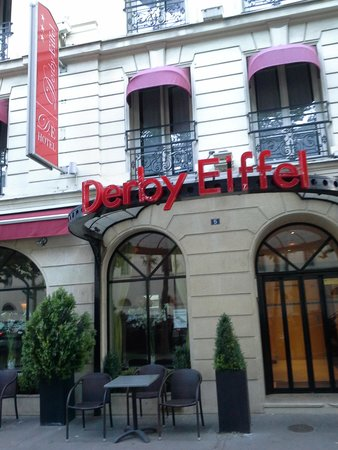 Derby Eiffel Hotel: Boutique Hotel