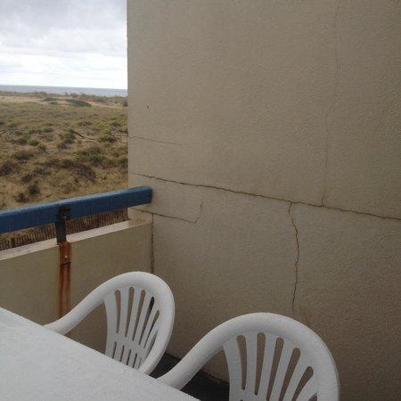 Residence les Gourbets: Balcon