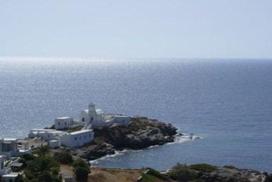 Selana Suites : view on Chrisopigi