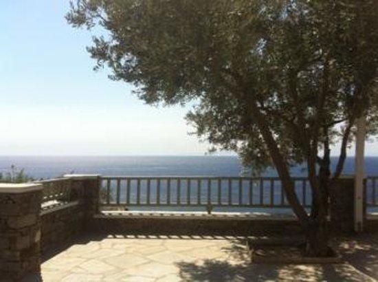 Selana Suites : part of the big terrace app nr 1