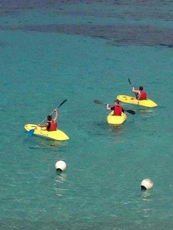 Portinatx Beach Club Hotel: Free Kayaking