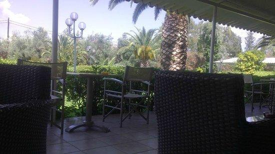 Livadi Nafsika Hotel: la terrasse